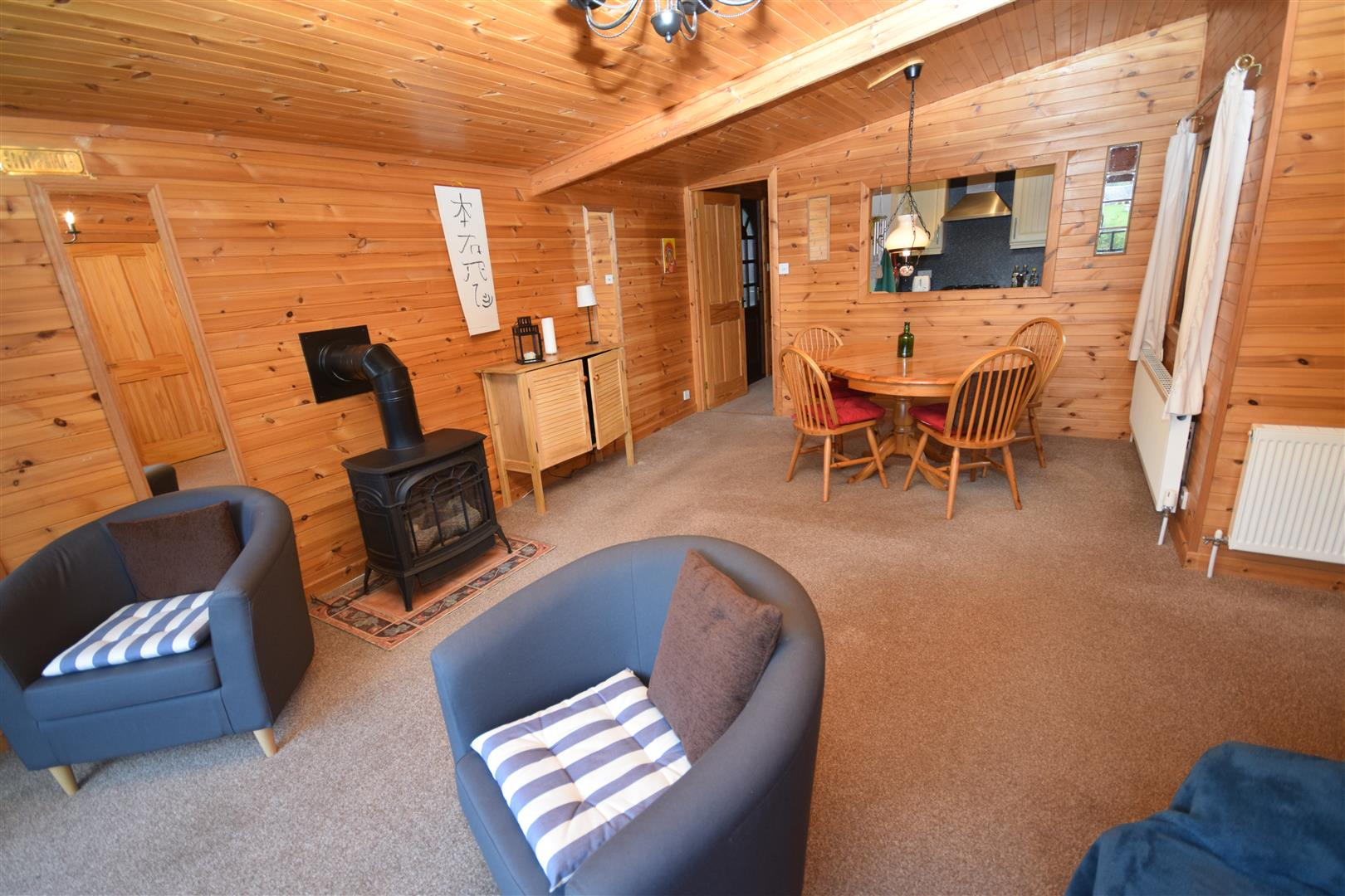 Pine Lodge, Rivertilt Caravan Park, Invertilt Road, Bridge Of Tilt, Blair Atholl, Pitlochry, Perthshire, PH18 5TE, UK